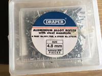 Draper Aluminium Alloy Rivets