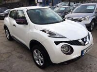 Nissan Juke 1.5 dCi Visia 5dr (start/stop)£9,995 p/x welcome FREE WARRANTY