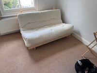 Fold out sofa bed / futon