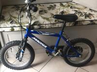 "Child's Blue 10"" Bike"