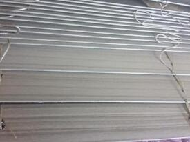 Grey wooden effect brand new Venetian blinds