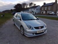 Honda Civic Type R EP3 Silver - Face lift Model Never Abused!