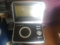 "Logik 8.5"" Widescreen portable LCD DVD Player with all Accessories in box."