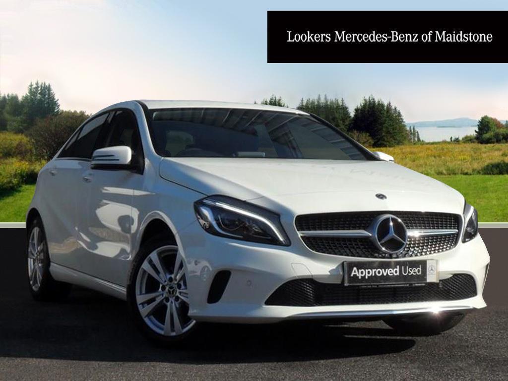 Mercedes-Benz A Class Diesel Hatchback Sport (white) 2017-09-01