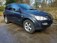 Ssangyong Kyron SPR 4x4 09 reg 2.7 Mercedes engine version
