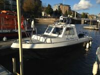 MI 21 Fishing boat
