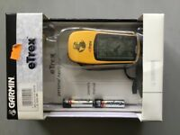 E trex GPS ideal for walking hiking cycling used once cost £129 .99 new