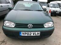 Volkswagen Golf 1.6 Automatic spares repairs still Drives