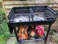 BBQ & Cover for sale - Charcoal