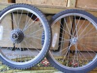 2 x 20 Alloy Wheels and Tyres