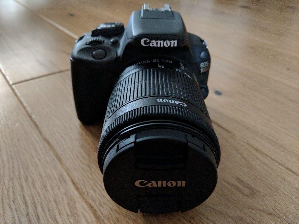 Canon Eos 100d Digital Slr Camera Ef S 18 55 Mm F 35 56 Is Stm Dslr