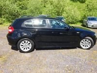 BMW 1 Series - 1.8L diesel - Black - perfect Condition - 92k miles - leather interior