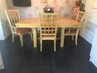 Kitchen Table & 6 Chairs