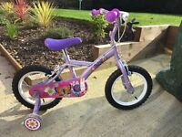 Halfords Apollo Petal girls bike - age 4-8