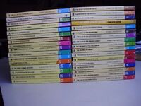 Collection of NANCY DREW MYSTERY childrens books