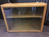 Oak Tobacco Cabinet
