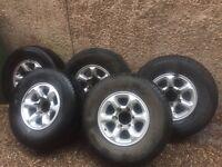 Mitsubishi Pajero Alloy Wheels