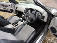 MG TF 135 Sprint Met Grey 83K miles MOT Expired Good Condition
