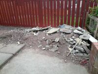 Needing pile gravel/wood shifted cash in hand
