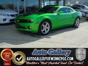 2010 Chevrolet Camaro 1LT *Rare Synergy Green