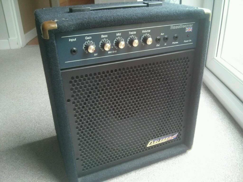 carlsbro bass beaver combo amp in pilton edinburgh gumtree. Black Bedroom Furniture Sets. Home Design Ideas