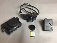 Excellent Fuji X10 compact camera with extras from careful owner