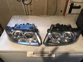 96-03 Audi A3 8l headlights in good condition complete