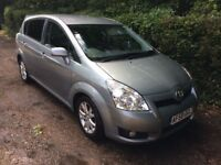 Diesel toyota verso 7 seater in Manchester   Cars for Sale - Gumtree