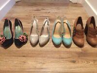 Women's heels, nearly new, size 4