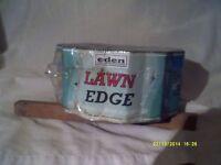 EDEN LAWN EDGING , an UNUSED BRAND NEW ROLL STILL IN IT'S WRAPPER , TIDY the LAWN?