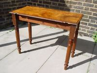 FREE DELIVERY Rustic Antique Solid Wooden Table With Retro Furniture 104