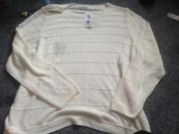 Size 22 women's new jumper m&s