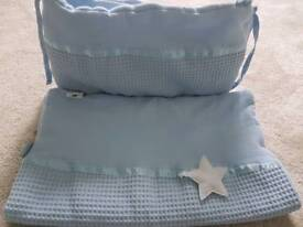 Claire de Lune crib bedding