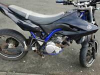 Yamaha wr 125 x .2013 plate
