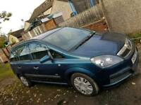 Vauxhall zafira 1.6 2007 spares or repairs