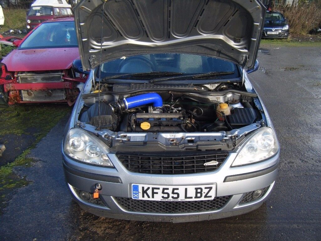 BREAKING CORSA C 1.8 AND A MK5 ASTRA H SXI 1.8 MOST PARTS INVERNESS AREA