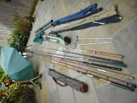 Fishing Rods and accessories lotc
