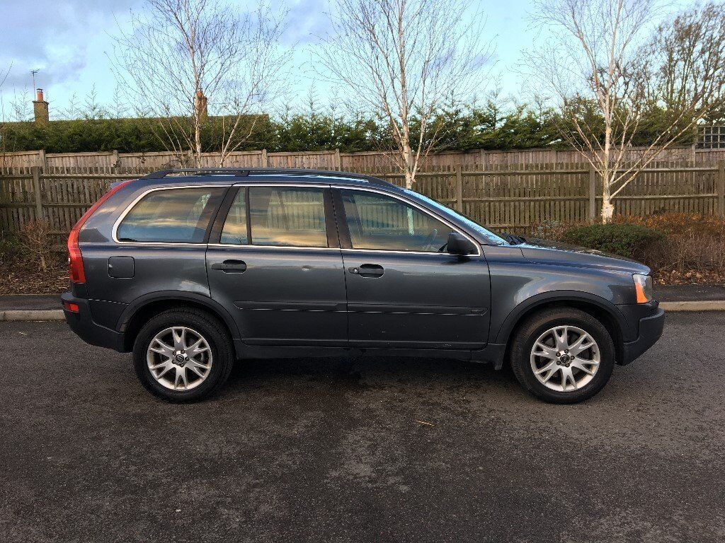 2005 05 PLATE VOLVO XC90 2.4 D5 AUTOMATIC 7 SEATER ESTATE GREY £1850