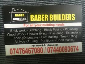 Builder skill man carpenter brick work wood work