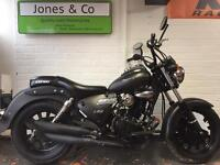 Keeway superlight 125 2014 chopper Harley look!! Delivery available
