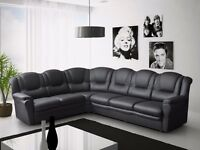 50% reduction from RRP. Brand new texas 7 seater corner sofa, available in leather or fabric