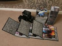 Huge Collection of 95 Sky At Night Magazines, 3 binders, 91 cd's
