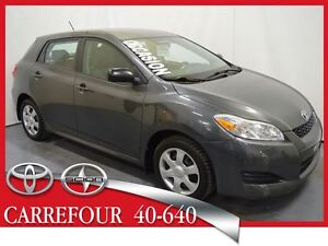 2010 Toyota Matrix 1.8L Gr.Electrique+Air Automatique