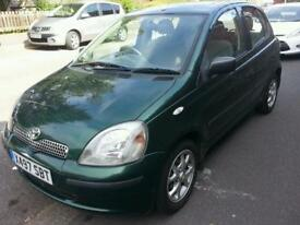 Toyota Yaris Automatic 2000 5 doors 1.3L