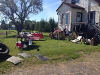 Yard Sale! Hwy 144 between Chelmsford and dowling