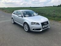 2010 Audi A3 S-Line 1.6TDI £20 Roadtax Facelift model
