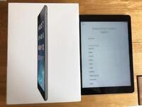 iPad Air 16GB Space Grey Wifi + Cellular- Great Condition