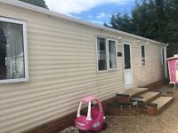 Mobile home 40ft x10ft Buckingham , two double bedrooms