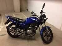 2008 - Yamaha YBR 125cc - Blue - Learner Legal - London - 10'302 miles