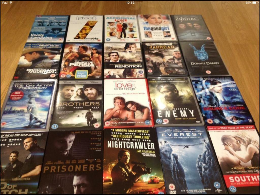 Jake Gyllenhaal DVD collection incl. Southpaw & Everest CHRISTMAS!